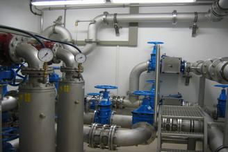 Wasserzweckverband Schieberkammer