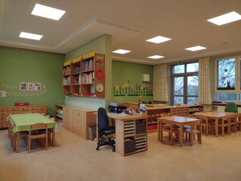 Ein Blick in den Kindergarten Gruppenraum1
