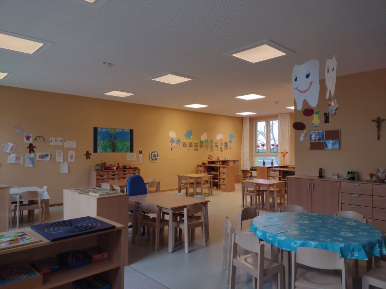 Ein Blick in den Kindergarten Gruppenraum 2