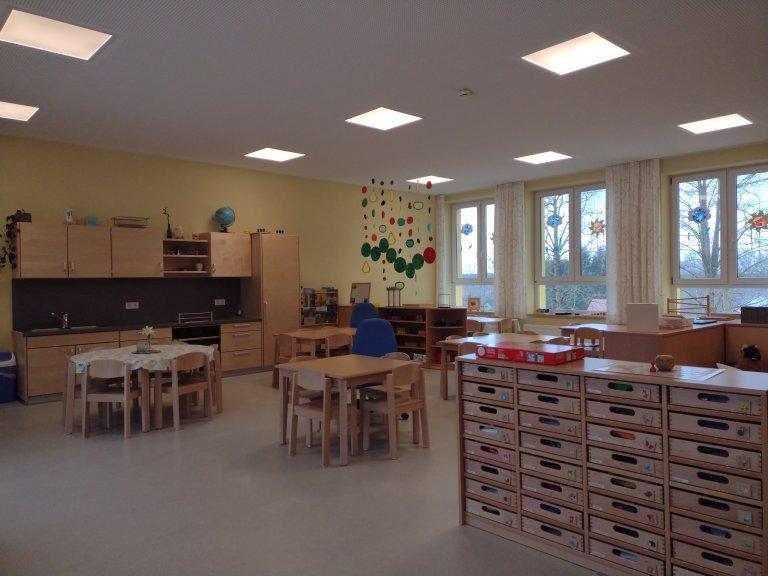 Ein Blick in den Kindergarten Gruppenraum 3