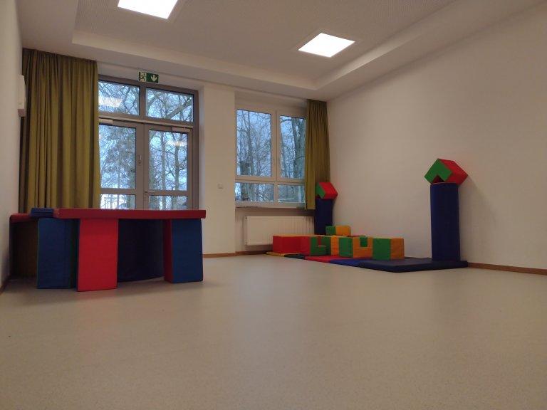 Ein Blick in den Kindergarten - bewegunsraum