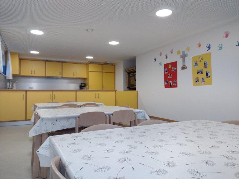 Ein Blick in den Kindergarten - küche
